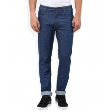 Deals, Discounts & Offers on Men Clothing - Flat 51% off on Newport Blue Slim Fit Jeans