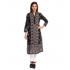 Deals, Discounts & Offers on Women Clothing - Flat 66% off on Vishudh Cotton Straight Kurti