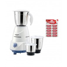 Deals, Discounts & Offers on Home & Kitchen - Flat 57% off on Eveready Glowy Mixer Grinder
