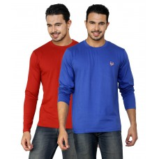 Deals, Discounts & Offers on Men Clothing - Flat 37% off on Spirit Solid  Full Sleeve T-Shirt