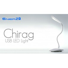Deals, Discounts & Offers on Computers & Peripherals - Flat 41% off on EnerZ Chirag Rechargable USB LED Table Lamp