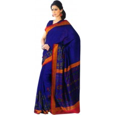 Deals, Discounts & Offers on Women Clothing - Flat 65% off on Sunaina Printed Daily Wear Cotton, Silk Sari