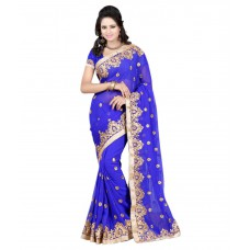 Deals, Discounts & Offers on Women Clothing - Flat 65% off on Pahal FashionGeorgette Saree