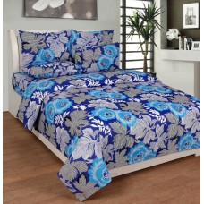 Deals, Discounts & Offers on Furniture - Flat 63% off on Zesture Cotton Printed Double Bedsheet