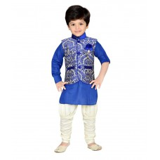 Deals, Discounts & Offers on Baby & Kids - AJ Dezines Partywear Kurta Payjama Set For Kids at 68% offer