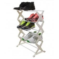 Deals, Discounts & Offers on Accessories - Birde Steel 5 Tier Shoe Rack at 55% offer