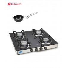 Deals, Discounts & Offers on Home Appliances - Glen 1043 GT 4 Burner Cooktop at 45% offer