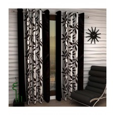 Deals, Discounts & Offers on Home Decor & Festive Needs - Home Sizzler Set of 2 Door Eyelet Curtain at 65% offer