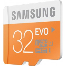 Deals, Discounts & Offers on Mobile Accessories - SAMSUNG Evo 32 GB MicroSDHC Class 10 48 MB/s Memory Card at 21% offer