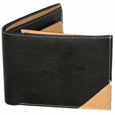 Deals, Discounts & Offers on Men - London Men Casual, Formal Black, Beige Artificial Leather, Fabric Wallet at 61% offer