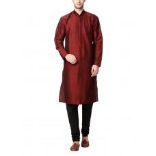 Deals, Discounts & Offers on Men Clothing - Peter England Men's Polyester Kurta Pyjama at 55% offer