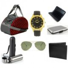 Deals, Discounts & Offers on Accessories - Fidato Mens Accessories Set Of 6- Combo at 73% offer