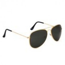 Deals, Discounts & Offers on Accessories - Royal Son Classic Black Aviator Sunglasses at 82% offer