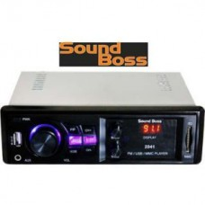 Deals, Discounts & Offers on Car & Bike Accessories - Sound Boss SB-2041 Car Media Player at 27% offer