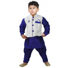 Deals, Discounts & Offers on Baby & Kids - JBN Creation Cream Brocade Jacket at 67% offer