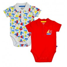 Deals, Discounts & Offers on Baby & Kids - FS Miniklub Red Combo Po2 Bodysuits