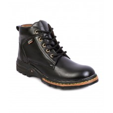 Deals, Discounts & Offers on Foot Wear - Pamphilos Black Smart Boot
