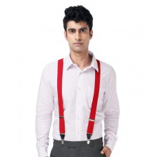 Deals, Discounts & Offers on Men Clothing - Lino Perros Distinguished Red Suspender