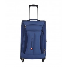 Deals, Discounts & Offers on Accessories - Swiss Military Medium (61 cm - 69 cm) 4 Wheel Soft TL7 - 24 in Travel Luggage