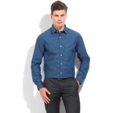 Deals, Discounts & Offers on Men Clothing - Arrow Men's Checkered Formal Blue Shirt