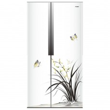 Deals, Discounts & Offers on Home Appliances - Haier HRF 618IC Aura 565L Side by Side Door Refrigerator