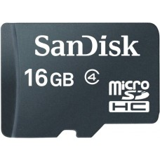 Deals, Discounts & Offers on Mobile Accessories - Sandisk 16 GB MicroSD Card Class 4 Memory Card