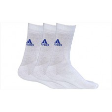 Deals, Discounts & Offers on Foot Wear - Adidas AD 207 Half Cushion Crew Socks, Pack of 3 Full Size