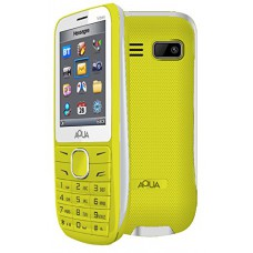 "Deals, Discounts & Offers on Mobiles - Aqua Vibes - 2.4"" Dual SIM Basic Mobile Phone"