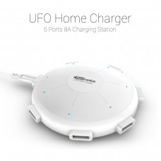 Deals, Discounts & Offers on Accessories - Portronics UFO Home Charger 6 Ports 8A Charging Station