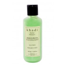 Deals, Discounts & Offers on Health & Personal Care - Khadi Neem and Aloevera Herbal Shampoo SLS and Paraben Free, 210ml