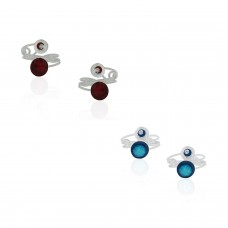 Deals, Discounts & Offers on Earings and Necklace - Frabjous Fusion Combo Of 2 Zircon German Silver Toe Ring For Women