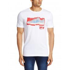 Deals, Discounts & Offers on Men Clothing - Puma Men's Round Neck Cotton T-Shirt