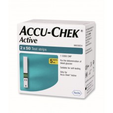 Deals, Discounts & Offers on Accessories - Accu-Chek Active 100 Test Strips