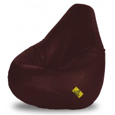 Deals, Discounts & Offers on Accessories - Dolphin XXL Bean Bag filled with Beans in Brown