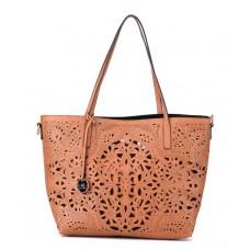 Deals, Discounts & Offers on Accessories - Diana Korr Tan P.U. Shoulder Bag