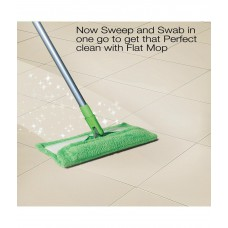 Deals, Discounts & Offers on Home Decor & Festive Needs - Scotch-Brite Flat Mop with Sprayer (Get refill free) Compact packing