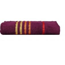 Deals, Discounts & Offers on Accessories - Casa Copenhagen Exotic Striped 475 GSM Cotton Bath Towel