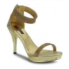 Deals, Discounts & Offers on Foot Wear - Get Glamr Gorgeous Golden Ethnic Sandals