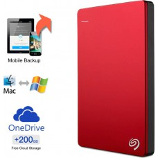 Deals, Discounts & Offers on Computers & Peripherals - Flat 36% off on Seagate Backup Plus Slim 1 TB Wired External Hard Disk Drive