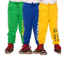 Deals, Discounts & Offers on Baby & Kids - Maniac Multicoloured Cotton Trackpants at 68% offer