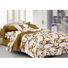 Deals, Discounts & Offers on Home Decor & Festive Needs - Home Cotton Floral Single Bedsheet at 50% offer