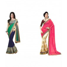 Deals, Discounts & Offers on Women Clothing - krishana creation Multicolour Pack of 2 at 16% offer