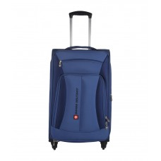 Deals, Discounts & Offers on Accessories - Flat 55% Offer on Swiss Military Small 4 Wheel Soft TL8 - 20 in Travel Luggage
