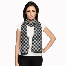 Sensodyne Offers and Deals Online - Flat 58% Offer on bombay high fashions black & grey checkered women's scarf