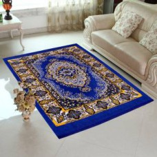 Deals, Discounts & Offers on Home Decor & Festive Needs - Flat 66% Offer on Home Elite Blue Jute Carpet