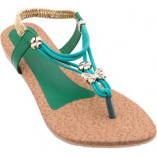 Deals, Discounts & Offers on Foot Wear - Flat 47% Offer on Royal Collection Women Green Flats