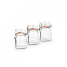 Deals, Discounts & Offers on Home Appliances - Flat 13% Offer on Living Essence Air Tight Spice Jars - 3 Pcs