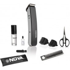 Deals, Discounts & Offers on Trimmers - Flat 76% Offer on Nova Advance NHT 1047 BL Trimmer For Men
