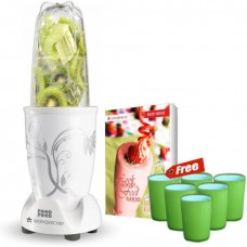 Deals, Discounts & Offers on Home Appliances - Flat 50% Offer on Wonderchef Nutri Blend 400 W Juicer Mixer Grinder