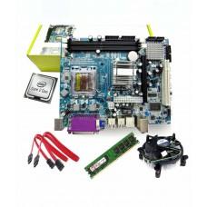 Deals, Discounts & Offers on Computers & Peripherals - Zebronics Motherboard Kit Hexa Core 2.8Ghz Processor, Motherboard ,1 Gb Ram & Intel Fan